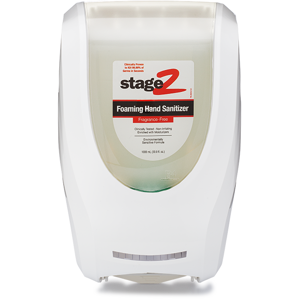 2XL-235: Touch Free Wall Dispenser for Antibacterial Hand Sanitizer (White)