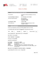 2XL-445, 446 No Rinse SDS