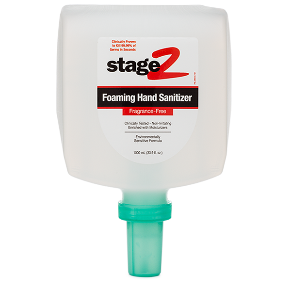 2XL224: Foaming Alcohol-Free Hand Sanitizer (1 Liter)