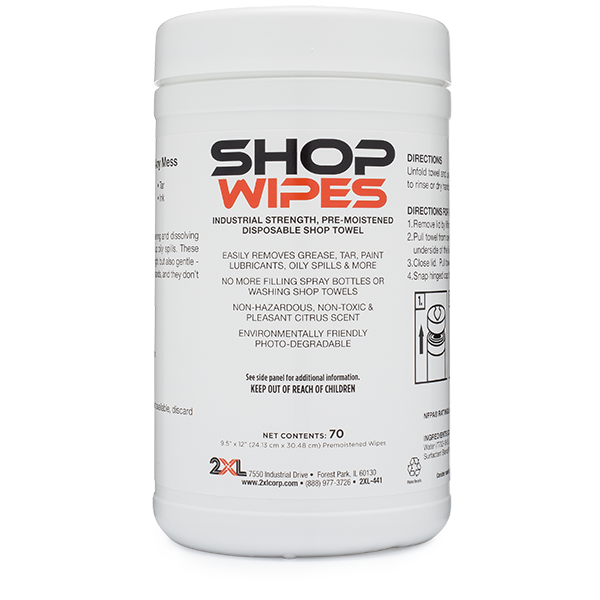 2XL-441: Shop Wipes (70 CT)