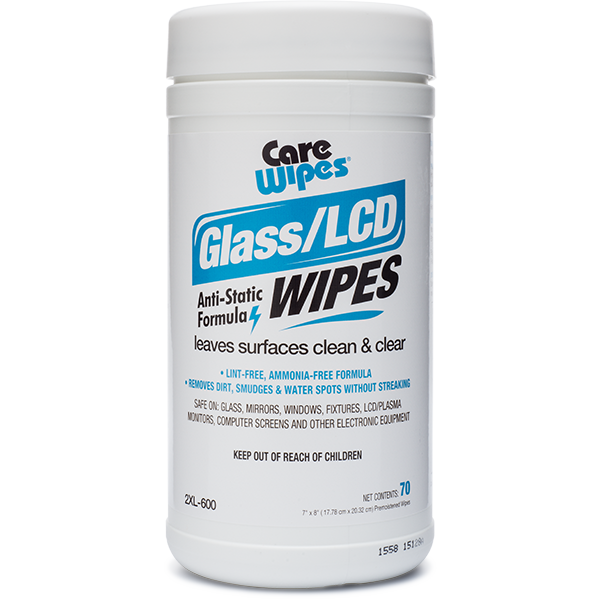 2XL600: Glass/LCD Wipes