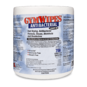Front view of GymWipes Antibacterial.