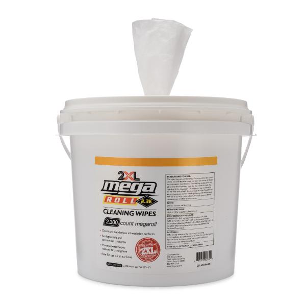 2XL-425: MegaRoll Biodegradable Wipe (2300 CT)