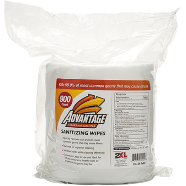 2XL36: GymWipes Advantage