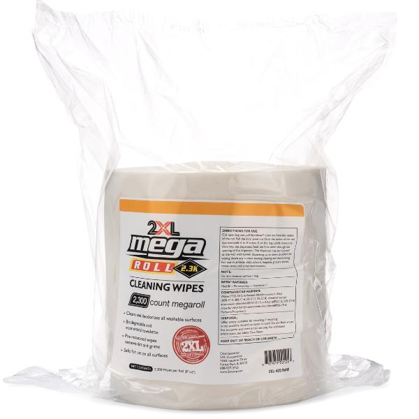 2XL426: MegaRoll Biodegradable Wipe (2300 CT)
