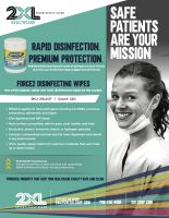 FORCE2 Disinfecting Wipes Sell Sheet