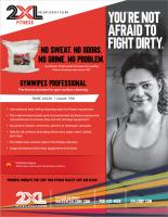 GymWipes Professional Sell Sheet (2XL38)