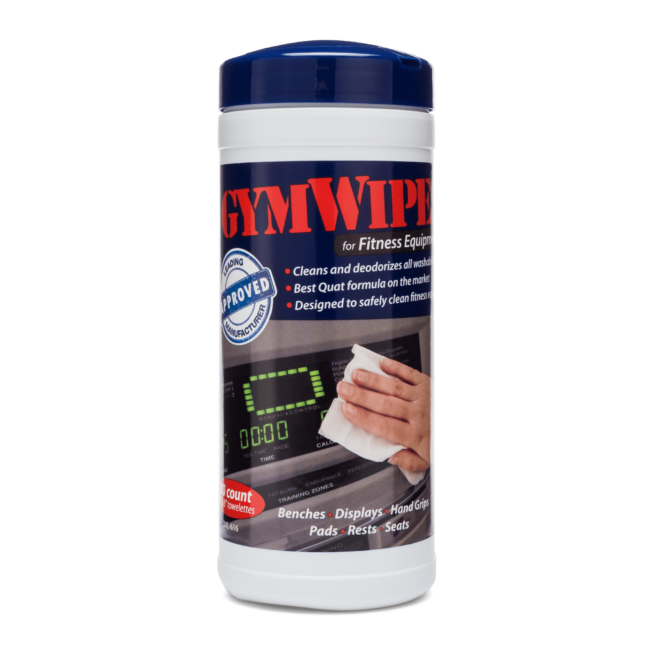 Front view of GymWipes.