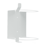 Side view of white wall mount.