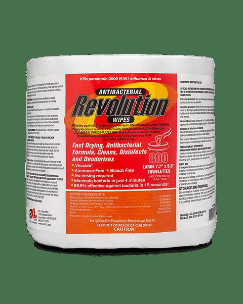 Revolution Antibacterial Wipes